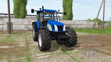 New Holland TL100A v2.5 для Farming Simulator 2017