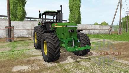 John Deere 4955 для Farming Simulator 2017