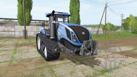 New Holland T7.315 TerraTrac v1.15 для Farming Simulator 2017