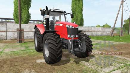 Massey Ferguson 7720 v2.0 для Farming Simulator 2017