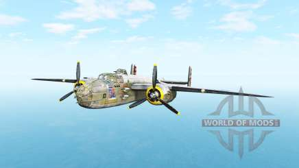 North American B-25 Mitchell v5.3.1 для BeamNG Drive
