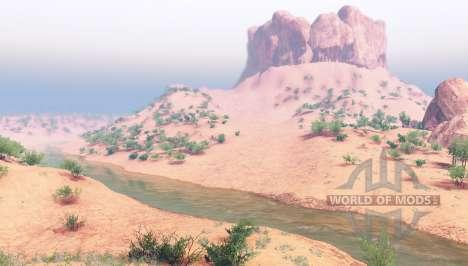 Пустыня Невады v1.1 для Spin Tires