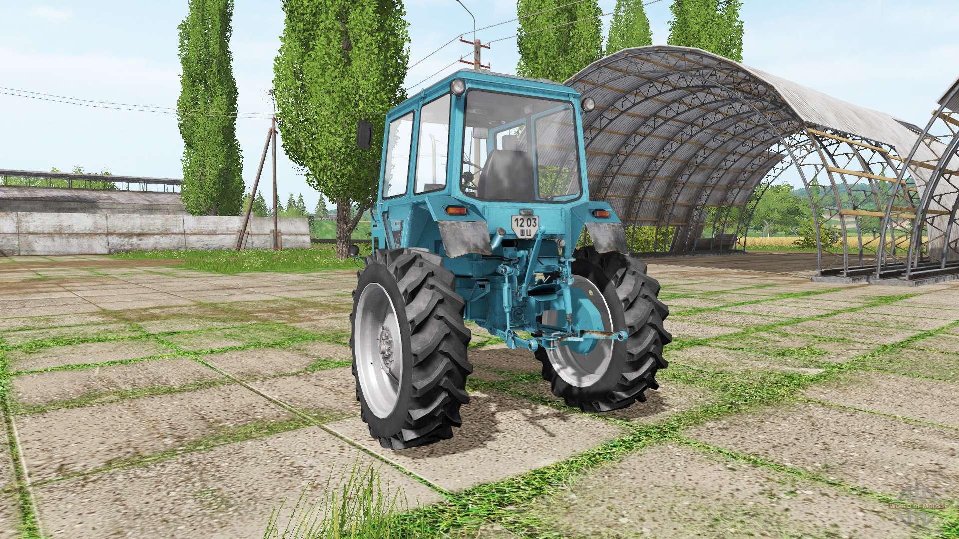 Трактор МТЗ-82: технические характеристики и описание.