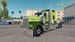 Скин Green on Green на тягач Kenworth W900