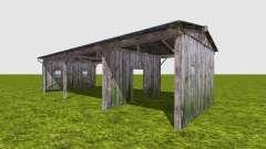 Деревянный навес для Farming Simulator 2017