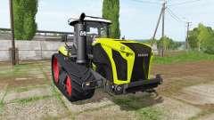CLAAS Xerion 4000 TerraTrac для Farming Simulator 2017