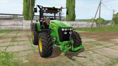John Deere 7930 v1.3 для Farming Simulator 2017