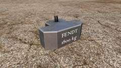 Weight Fendt для Farming Simulator 2015