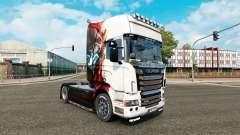 Скин Железный человек на тягач Scania R-series
