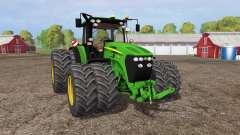 John Deere 7930 twin wheels