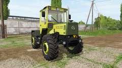 Mercedes-Benz Trac 900 Turbo Intercooler v2.2 для Farming Simulator 2017