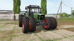 Fendt 920 Vario forest edition
