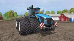 New Holland T9.565 twin wheels v1.2 для Farming Simulator 2015