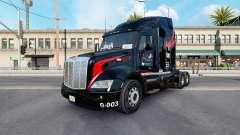 Скин M.&.A Trucking v1.1 на тягач Peterbilt 579