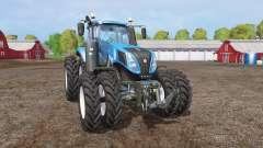 New Holland T8.320 twin wheels