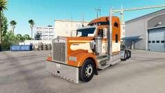 Скин One Orange на тягач Kenworth W900