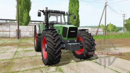 Fendt Favorit 916 Turboshift для Farming Simulator 2017
