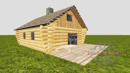 Бревенчатый дом для Farming Simulator 2015
