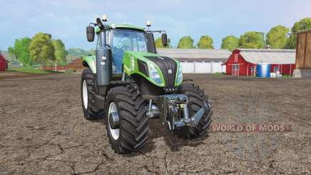 New Holland T8.435 green для Farming Simulator 2015