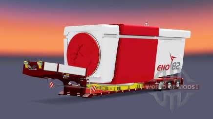 Doll Vario 3-axle v5.0 для Euro Truck Simulator 2