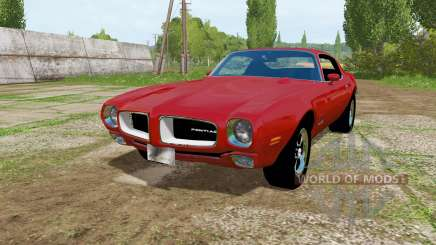 Pontiac Firebird 1970 для Farming Simulator 2017