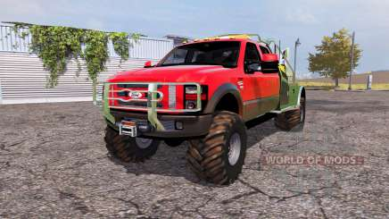 Ford F-350 Super Duty service для Farming Simulator 2013