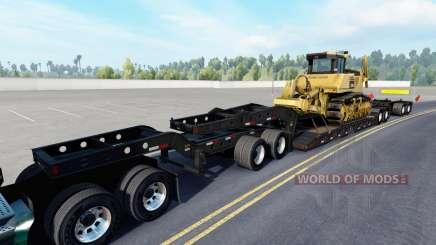 Fontaine Magnitude 55L Komatsu v1.1 для American Truck Simulator
