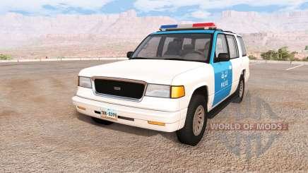 Gavril Roamer iraq police для BeamNG Drive