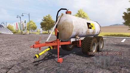 Jo-Ba manure barrel v3.1 для Farming Simulator 2013