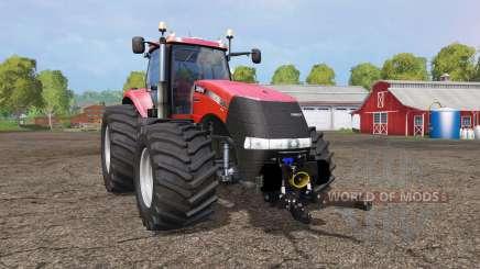 Case IH Magnum CVX 380 wide tires для Farming Simulator 2015