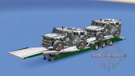Military cargo pack v1.9 для Euro Truck Simulator 2