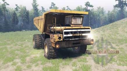 БелАЗ 540 v2.0 для Spin Tires