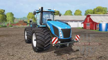 New Holland T9.565 wide tires для Farming Simulator 2015