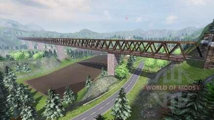 Тихая долина для Farming Simulator 2013