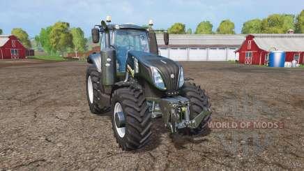 New Holland T8.320 black edition для Farming Simulator 2015