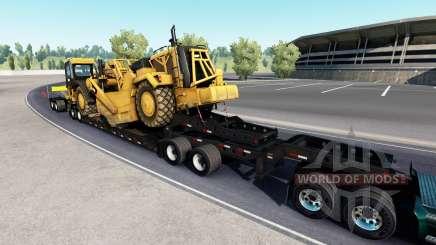Fontaine Magnitude 55L Caterpillar v1.1 для American Truck Simulator