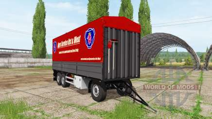 Bale trailer autoload для Farming Simulator 2017