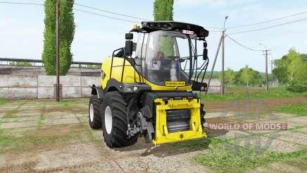 New Holland FR850 manual pipe для Farming Simulator 2017