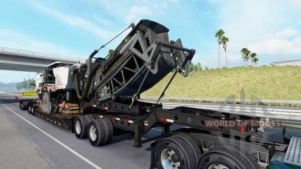 Fontaine Magnitude 55L Wirtgen v1.1 для American Truck Simulator