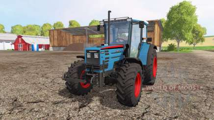 Eicher 2090 Turbo front loader v1.1 для Farming Simulator 2015
