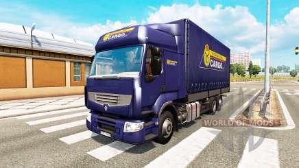 Tandem truck traffic v1.3 для Euro Truck Simulator 2