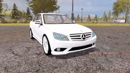 Mercedes-Benz C350 Sport (W204) для Farming Simulator 2013