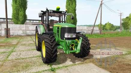 John Deere 6830 Premium для Farming Simulator 2017