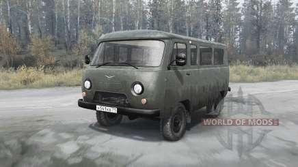 УАЗ 2206 Буханка для MudRunner