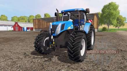 New Holland T7040 для Farming Simulator 2015