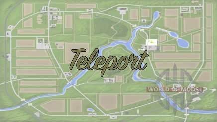 Teleport v1.1 для Farming Simulator 2017