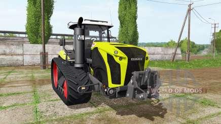 CLAAS Xerion 4000 TerraTrac v1.1 для Farming Simulator 2017