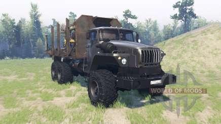 Урал 43260 для Spin Tires