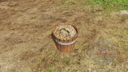 Fertilizer bucket v1.2 для Farming Simulator 2017
