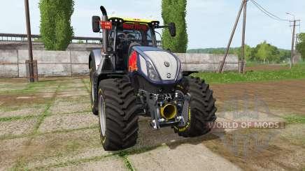 New Holland T7.315 Red Rikie для Farming Simulator 2017